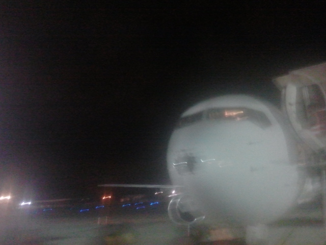 Nariz do avião da Gol