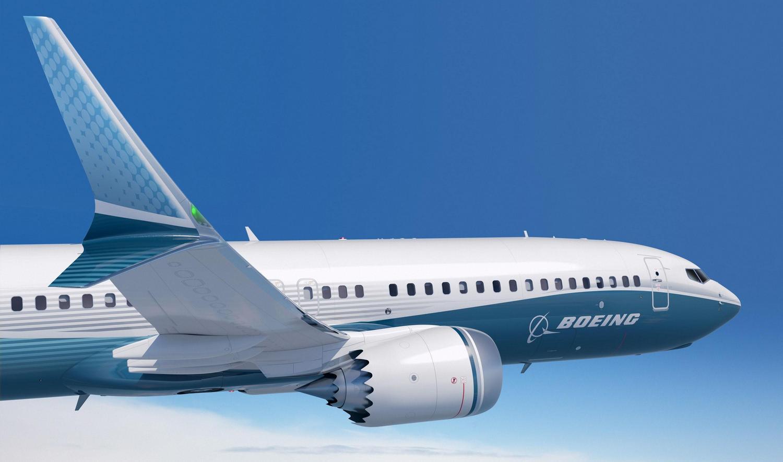 """Winglets divididos em dois na ponta da asa e os """"dentes"""" na carapaça do motor diferenciam o 737 MAX da versão anterior (Foto: Wikimedia Commons)"""